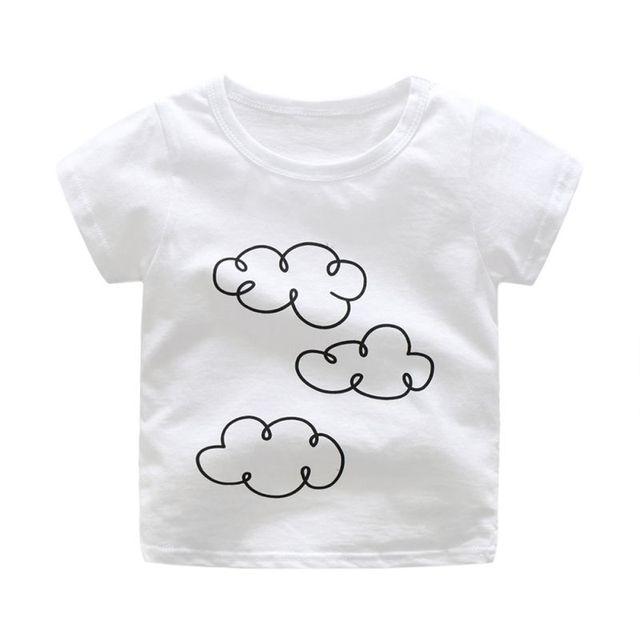 1168f740bbb Newborn Raindrop Pants Outfit Set Toddler Kid Baby Boy Girls Matching Cloud  T-shirt Top