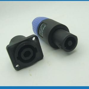 2 sets 4 Pole Locking Speaker
