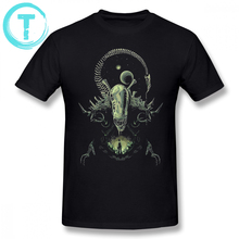 Alien T Shirt Alien T-Shirt Cartoon Printed Summer Tee Shirt Plus Size 4XL 6XL Men Fun Cotton Short Sleeve Beach Cotton Tshirt цена
