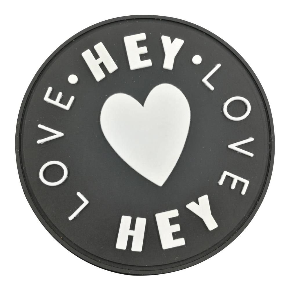 Angepasst gummi Coaster kunden gummi silikon etiketten patches mit logo für kleidung PVC tags hut jeans taschen gepäck geschenk tag-in Kleidungs-Etiketten aus Heim und Garten bei  Gruppe 1
