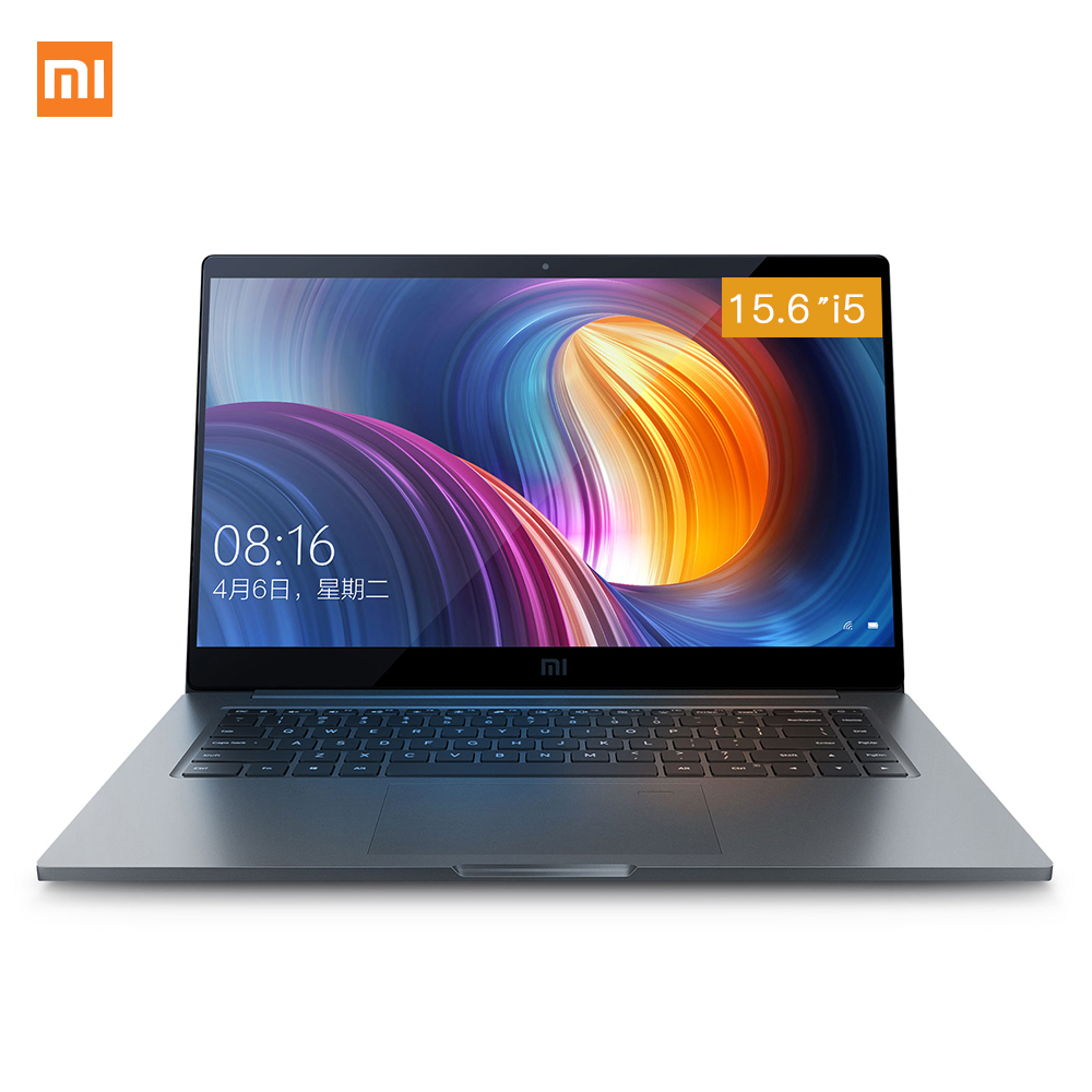 Xiaomi Notebook Pro 15.6 ''Intel Core i5 i7 Quad Core Ordinateur Portable MX150 2 gb GDDR5 Reconnaissance D'empreintes Digitales 8 gb /16 gb DDR4 Ordinateur