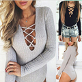 S-XL Macacao Feminino Rompers , jumpsuit Up overalls Deep V Neck Sexy Bodycon,swim,night entertainment venue clothes for Women