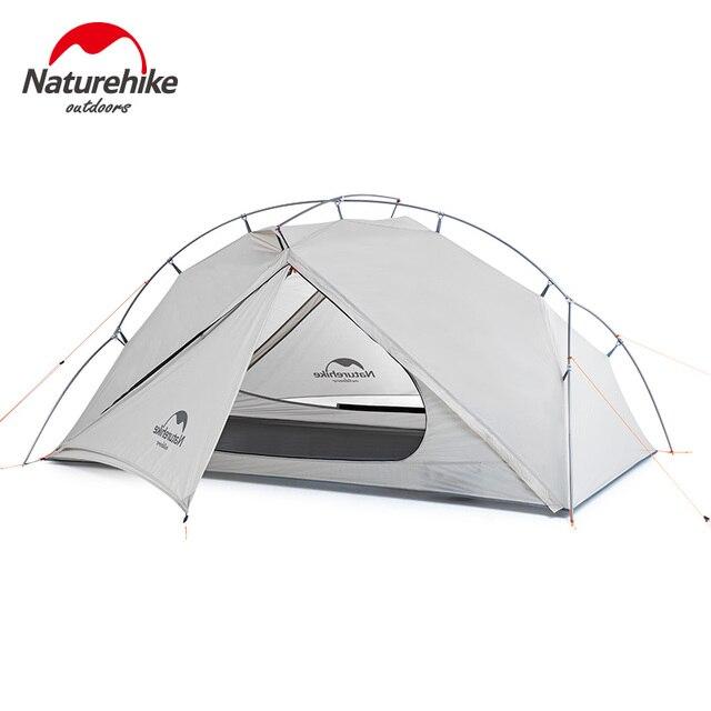 Naturehike tienda de campaña ultraligera para 1 persona, impermeable, de una capa, para viajes al aire libre, senderismo