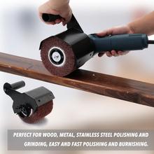 Szlifierka kątowa polerowanie polerowanie akcesoria do maszyn metalowa stalowa szlifierka do drewna zmień szlifierkę kątową w szlifierka tanie tanio KKMOON Domu DIY Angle Grinder 120mm 4 7in 185*153*140mm 1473g 3 2lb Inne