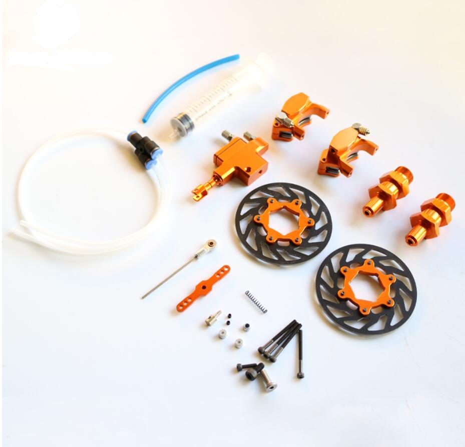 King Motor Baja front Hydraulic brake system for HPI Baja 5B Parts Rovan