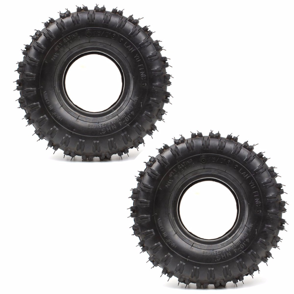 Accessories Kind-Hearted 2 Pack Of 4.10-4 410-4 Rear Tyre Tire & Tube For Garden Rototiller Snow Blower Go Cart Ins Crazy Price