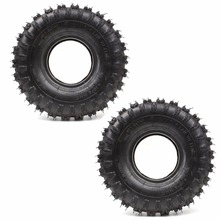 2 PACK OF 4.10-4 410-4 Rear Tyre Tire & Tube For Garden Roto