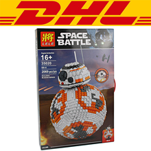 2017 New 2069Pcs MOC Star Wars Figures Ultimate Collector's BB8 Robot Model Building Kits Blocks Bricks Toys For Children Gift