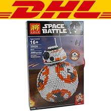2017 New 2069Pcs MOC Star Wars Figures Ultimate Collector s BB8 Robot Model Building Kits Blocks