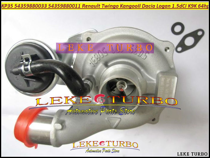 Free Ship Turbo KP35 011 033 54359700011 54359700033 8200507852 Turbocharger For Renault Kangoo 2 Twingo II Dacia K9K 1.5L dCi