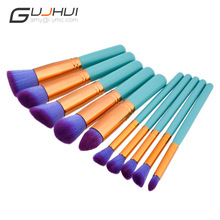 10 Pcs makeup brushes set beauty tools best selling new products