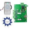 Controle de Acesso de entrada Wiegand Painel Placa de Rede TCP Controlador À Prova D' Água Para O Leitor de Cartão RFID 125 KHz + Kit Keyfob