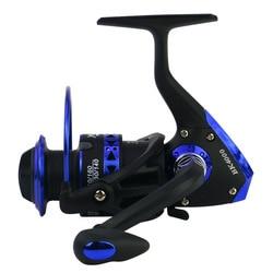 Seria BK 1000-7000 kołowrotek składany Rocker kołowrotek wędkarstwo prawy lewy kołowrotek pełny drut metalowy pętla