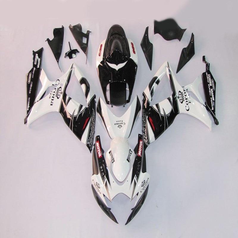 Nn-abs adapté pour SUZUKI GSXR 600 750 kit de carénage K6 K7 2006 2007 pièces GSXR600 GSXR750 06 07 ZZ rouge blanc noir carénage