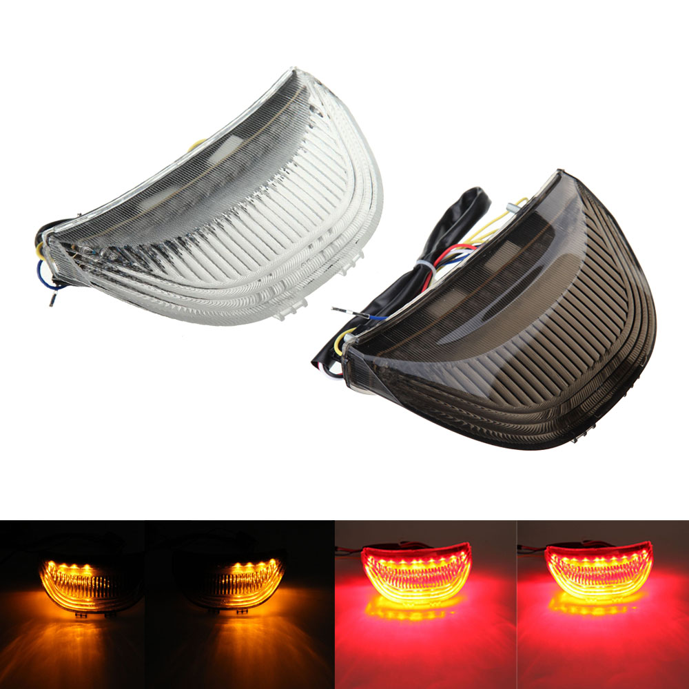 Motorcycle Integrated LED Turn Signals Tail Light For Honda CBR 600 RR CBR600RR 2003 2004 2005 2006 CBR1000RR 04 05 06 07