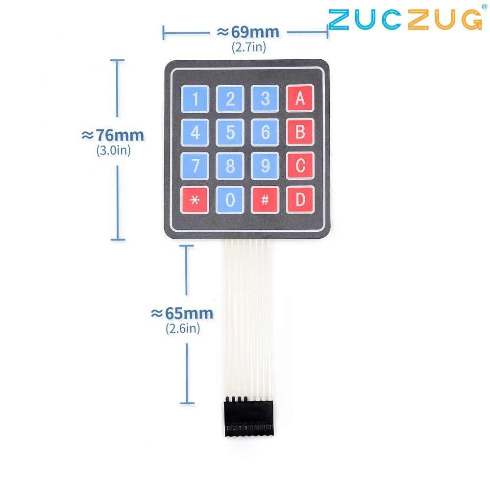 4*4 Matrix Array/Matrix Keyboard 16 Key Membrane Switch