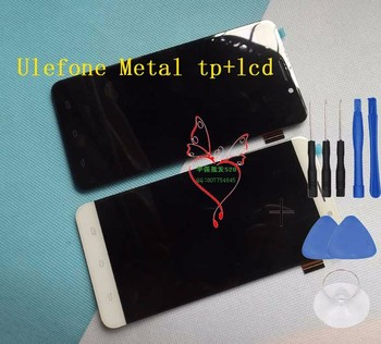 Original Ulefone Metal Lite Front Panel Touch Glass Digitizer Screen with LCD display for metal lite Cell Phone FREE SHIPPING