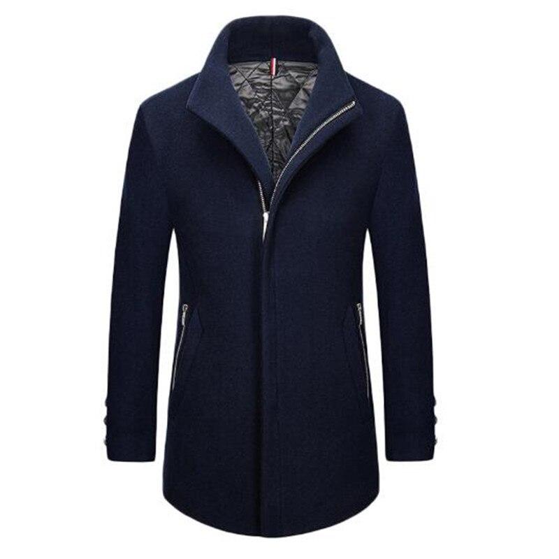 Long Manteaux Trench Vêtements 1 Nouveaux Pardessus De Manteau En 3 2 Mâle Peacoat À Laine 2017 D'hiver Hommes qFUtwSxwg