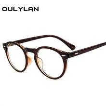 97fe15b43 Oulylan Lente Óptica Óculos de Armação Mulheres Óculos de Marca de Moda de  Vidro Transparente Transparente Fêmea Ultra-leve Ócul.