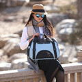 new dog pet-dogs out portable bag/backpack/laptop shoulder dual purpose dog package-trumpet
