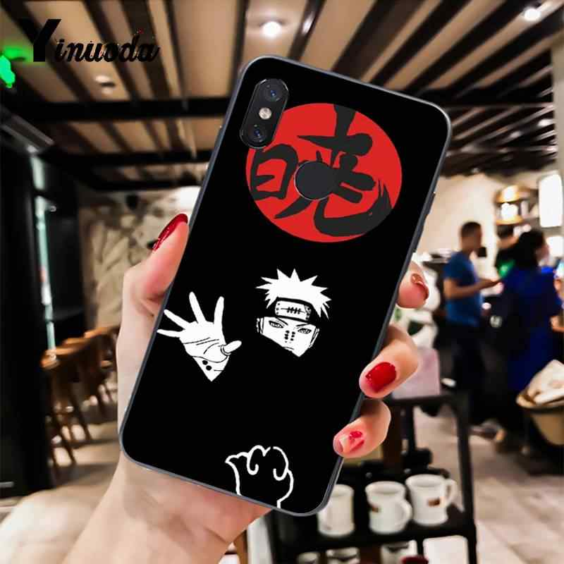Yinuoda Naruto akatsuki schmerzen Itachi Uchiha Japanischen Telefon Fall für Xiao mi mi 6 mi x2 mi x2S Note3 8 8 lite Rot mi 5 note5 Note4 4X