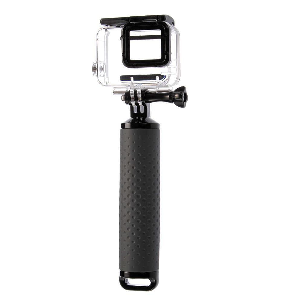 Подводный Fisheye купольная водонепроницаемые корпуса чехол + поплавок ручка для GoPro Hero 5/6/7 действие Камера