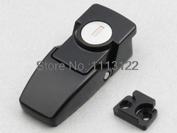 DKS-1 Zinc Alloy Black Toggle latch / hasp toggle latch lock Cabinet Security Toggle Hasp Latch Lock Black with key 5 PCS фото