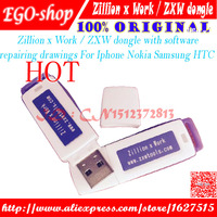 Free Shipping 2016 New Zillion X Work ZXW DONGLE Repair Mobile Phone Circuit Board Repair Mobile
