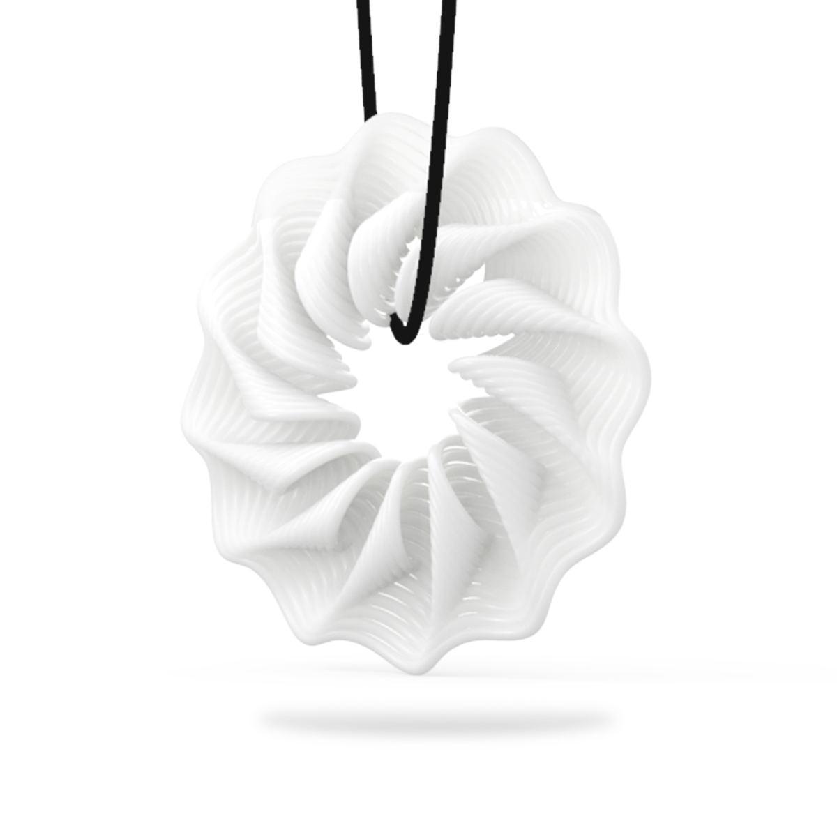 Tooarts Tomfeel 3D Baskılı Takı Ritim Zarif Modelleme Kolye Takı - Ev Dekoru - Fotoğraf 3