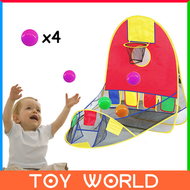Hot Sale Ball Scoring Tent Children Play Tent Play House Basketball Basket Beach Lawn Tent Ball Pool Outdoor Sport Best Kid Toy
