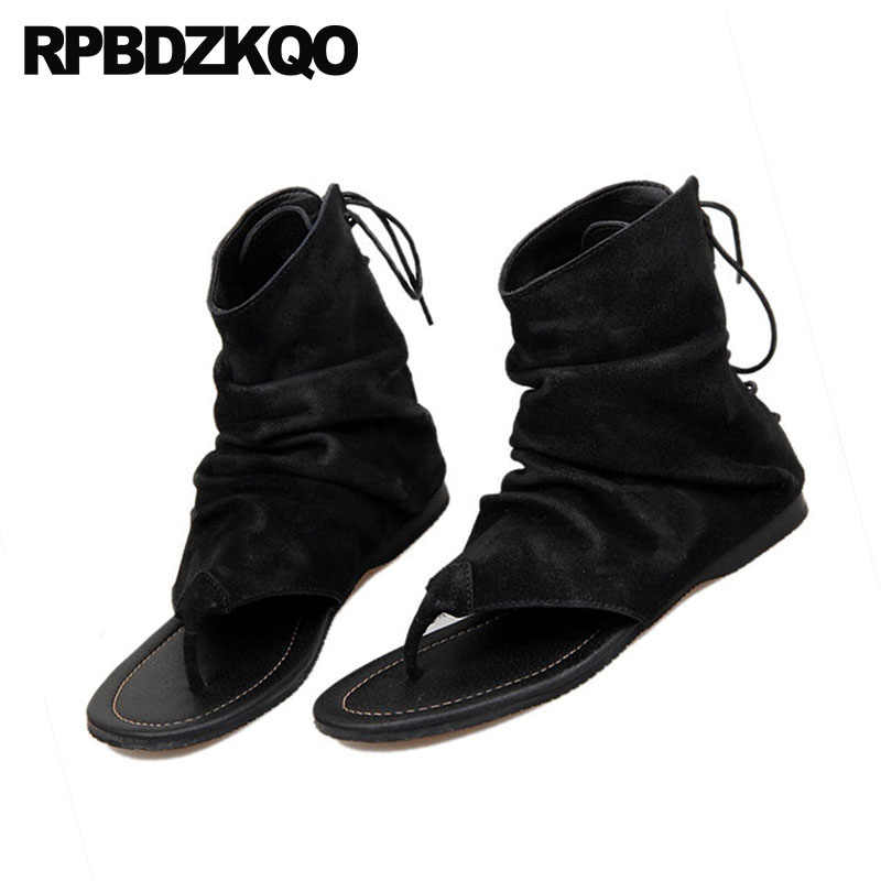 26eba4505548f7 ... Flat Casual Strap Japanese Mens Sandals 2018 Summer Outdoor Shoes  Famous Brand Boots Open Toe Black ...