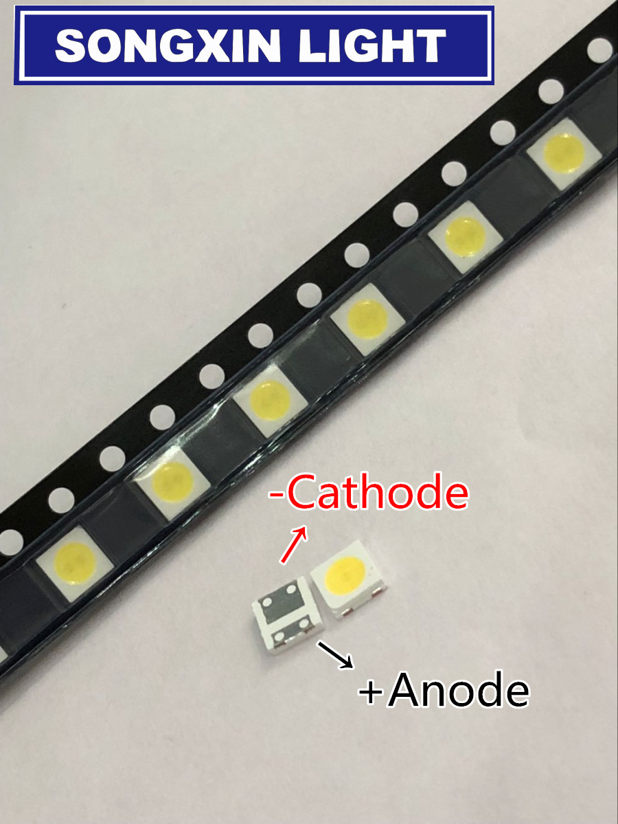 Diodes Search For Flights 1000pcs Sharp Led Backlight Lcd Tv 3535 3537 Led Smd Lamp Bead 1w 6v Cold White Gm5f20bh20a Exquisite Craftsmanship;