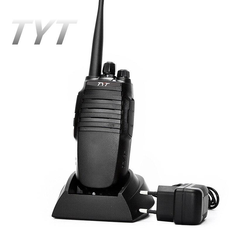 10W 1PC TYT TC 8000 Walkie Talkie 10 KM UHF VHF 3600mAh High Power HF Radio
