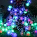 Luz do feriado 4 M 20 LEDs 220 V impermeável RGB ao ar livre CONDUZIU luzes da corda da Luz de Natal da festa de Aniversário do casamento do feriado decotation