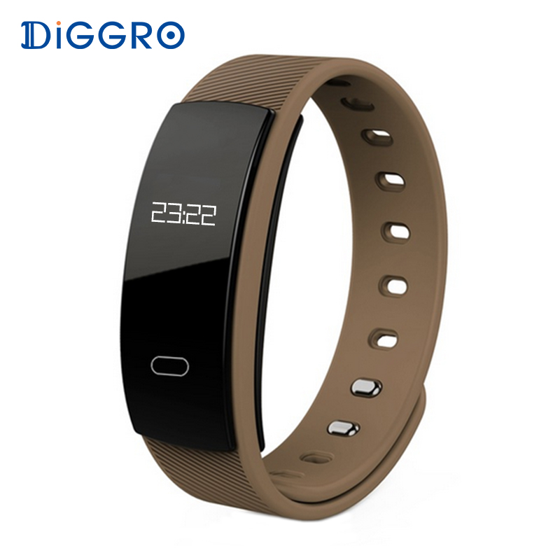 Diggro QS80 Smart Wristband Blood <font><b>Pressure</b></font> Fitness Tracker Heart Rate Monitor Sleep Tracker Bracelet Smartband For IOS Android