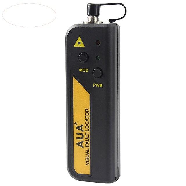 Бесплатная доставка 1 МВт Красный Лазерный Свет Волоконно-оптический Кабель Тестер Визуальный Дефектоскоп Checker измеритель оптической мощности для 1-5 КМ