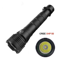 LED Diving Flashlight Underwater Waterproof 80m Tactical Torch CREE XHP70 XHP50 LED 4000 Lumens LED SCUBA
