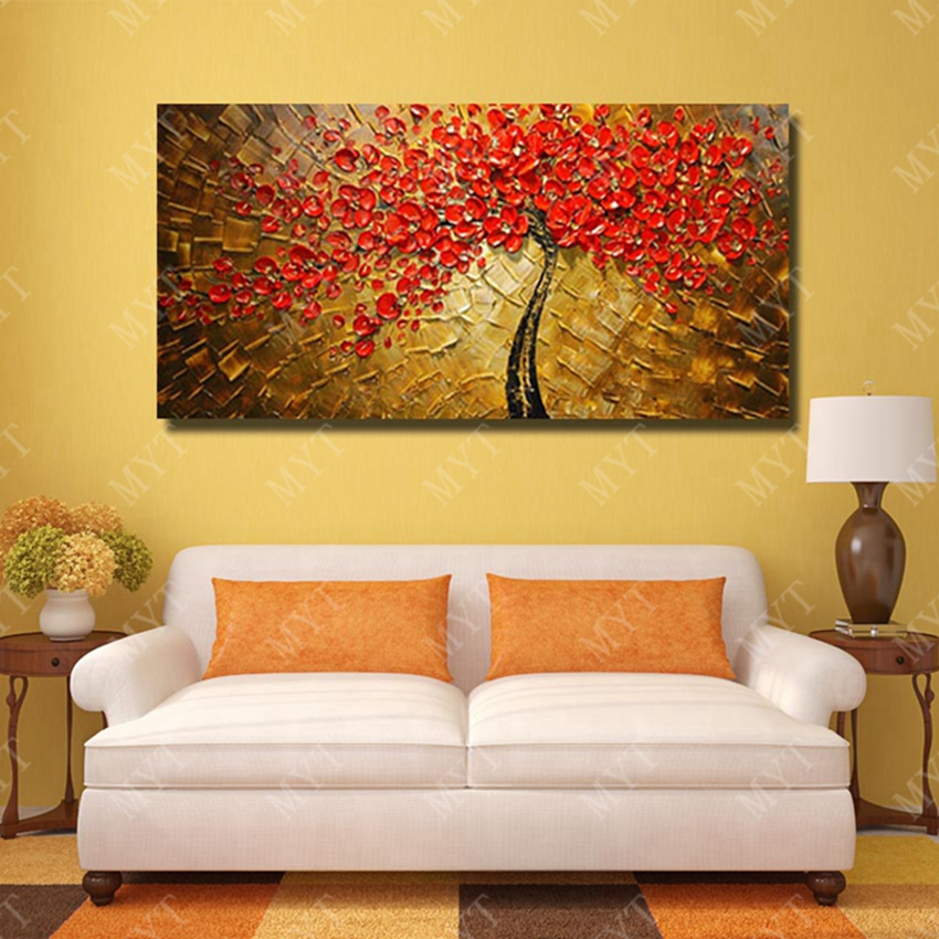 Modern Art Of 100% Handmade Pictures Paintings To Decorate The Wall ...