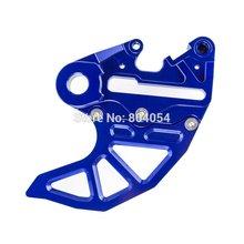 Синий ЧПУ Тормозной Суппорт Поддержка с Тормозной Диск Гвардии Для KTM SX EXC 125 250 350 450 2004-2015