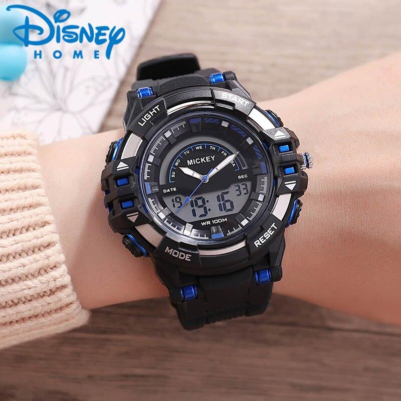 Disney enfants montres sport 2019 montre numérique pour enfants lumineux étanche garçons montres enfants horloge erkek kol saati relogio