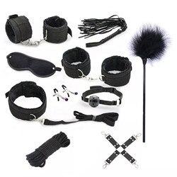 Сексуальный комплект нижнего белья, секс наручники, БДСМ, бондаж, эротические костюмы, женский костюм, эротическое белье, интимные товары, Б... 2