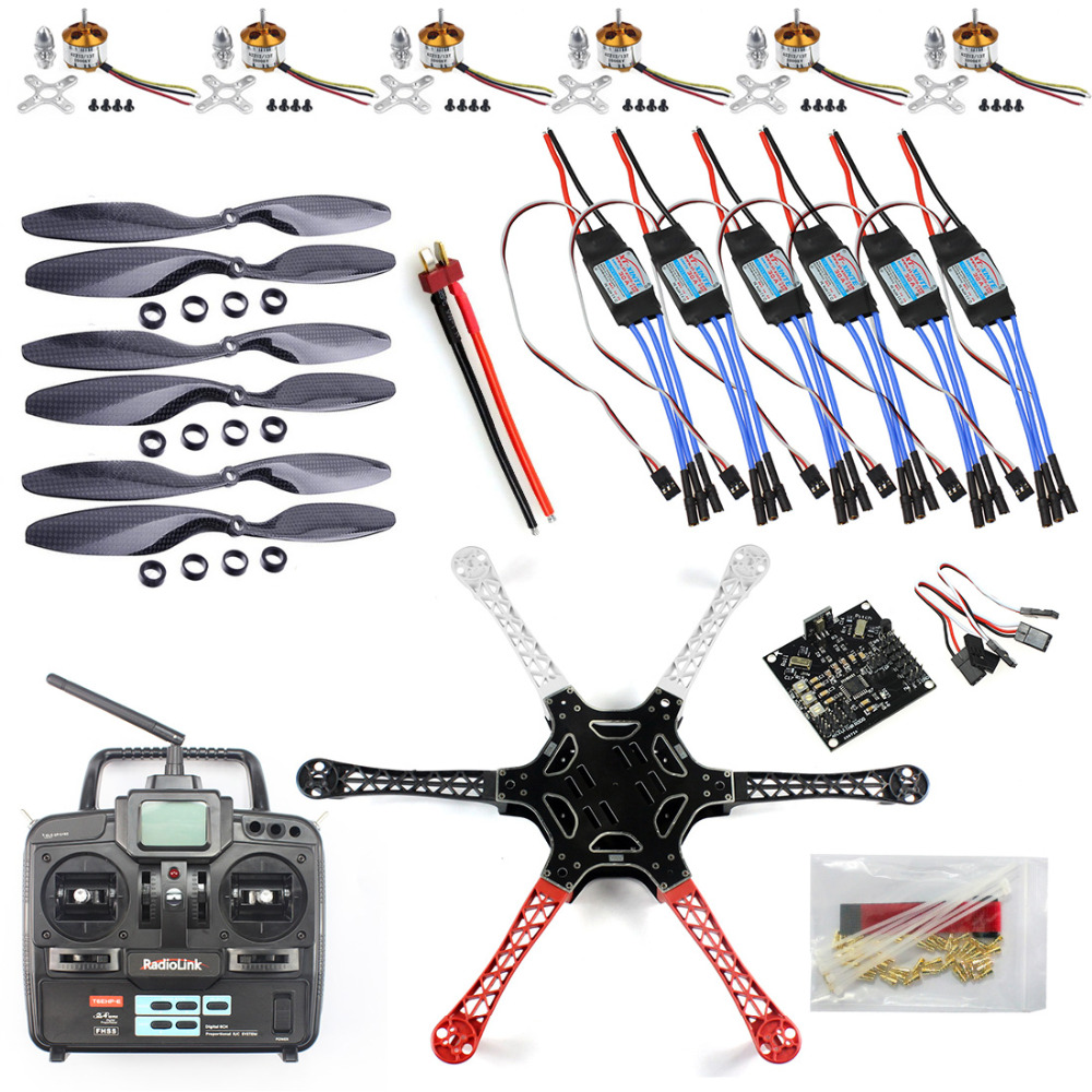 F05114 J F550 Drone Heli Flamewheel Kit With Kk 23 Flight Quadcopter F450 Wiring Diagram Controller Esc Motor Carbon Fiber Propellers Radiolink 6ch Tx Rx Blog Store