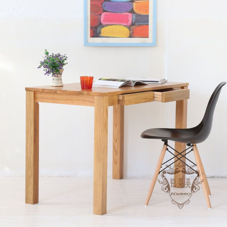 Platinum Levin US Nordic Wood Den Study Table IKEA Small