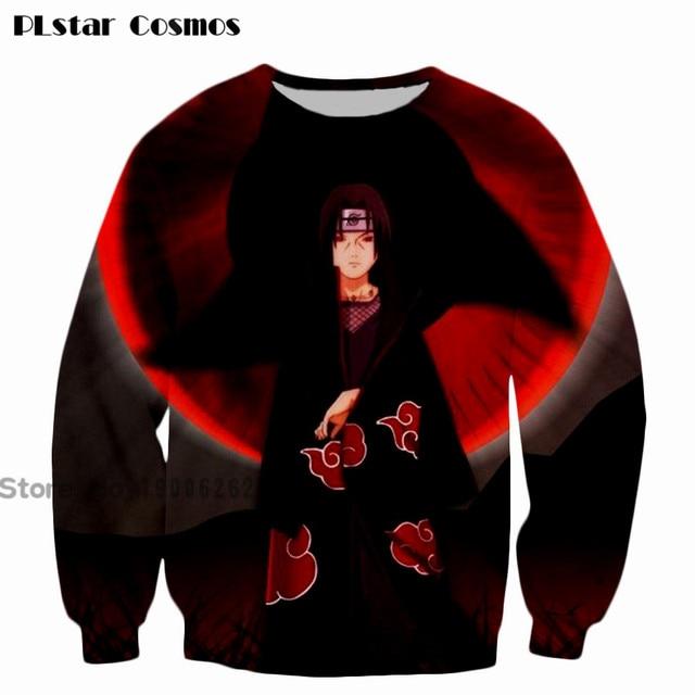 Naruto Long Sleeve Outerwear 3D Sweatshirt Hoodie