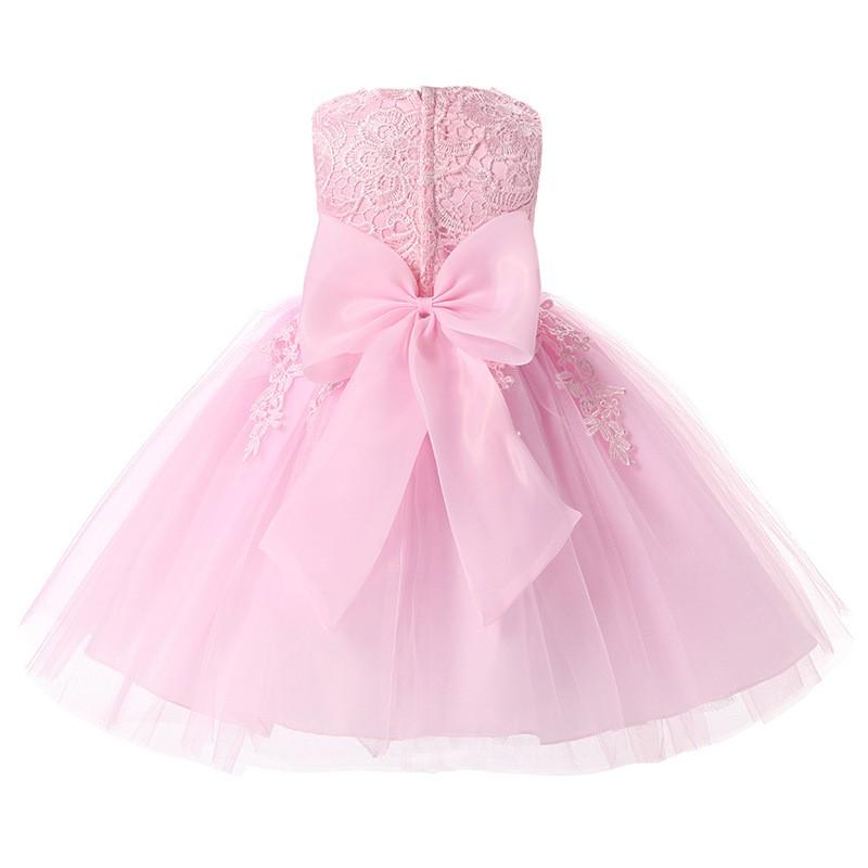 Kids-Infant-Girls-Christmas-Dress-Bridesmaid-Toddler-Elegant-Dress-Pageant-Wedding-Bridal-Lace-Formal-Party-Dress