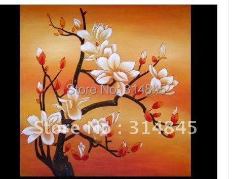 Feng shui lotus flower painting original artists signed modern asian feng shui lotus flower painting original artists signed modern asian art 1no frame mightylinksfo Image collections