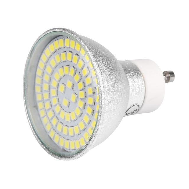 GU10 Socket 80 3528 SMD Spotlight 9W 220V 800Lm 6500K LED Bulbs Home