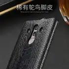 Роскошный чехол из натуральной кожи страуса для huawei mate 8 9 10 Pro, чехол из натуральной кожи для P8 P9 P10 lite P Smart Nova 2S - 5