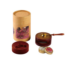 Wax Seal Oven Goed Ontworpen Smeltovens Wax Smelten Pot Afdichting Stempel Envelop Smelten Lepel Kit(China)