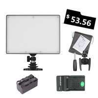 Ulanzi YONGNUO YN300 YN 300 Air LED Camera Video Light 3200 5500K with NP F750 Decoded Battery+Charger for Canon Nikon&Camcorder